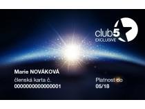 Club 5* Exclusive kartica