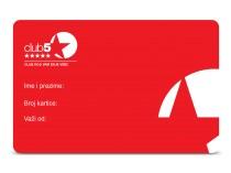 Club 5* Premium kartica