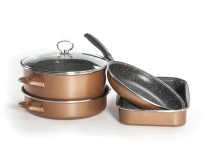 Delimano Stone Legend CopperLux Grande set posuđa