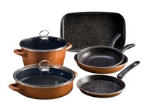 Delimano Stone Legend CopperLUX Master kuhinjski set