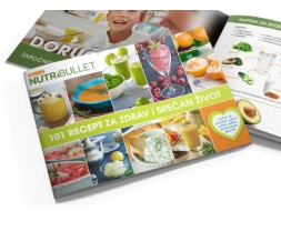 Nutribullet - 101 recept za zdrav i srećan život Delimano