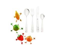 Delimano Gourmet escajg - dječiji pribor za jelo 4 kom