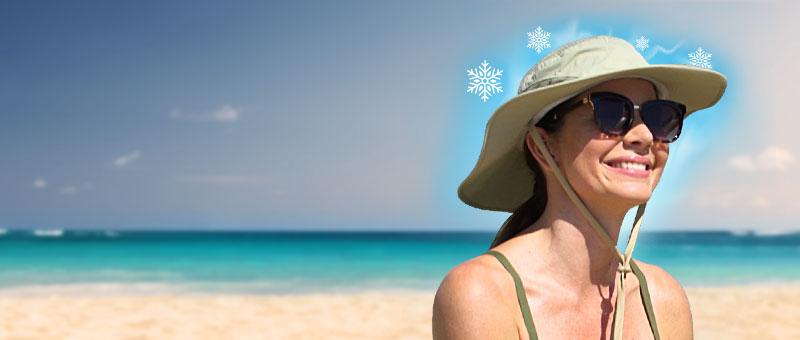 Arctic šešir - pobijedite vrućinu!