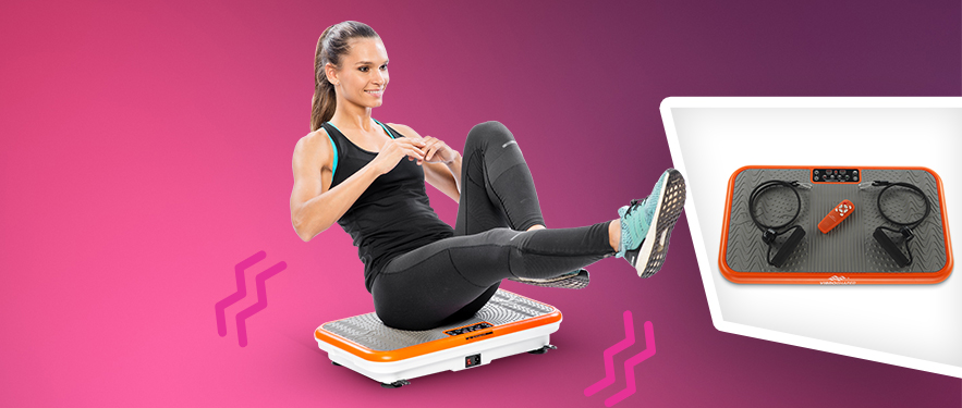 Gymbit Vibroshaper sprava za fitnes